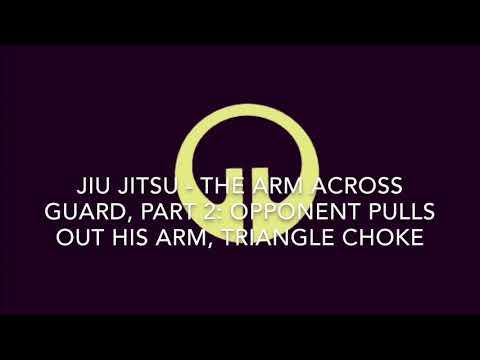 Jiu Jitsu Training in Austin Texas: Arm Across Guard Part 2