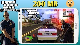 200 MB GTA San andreas Lite Mali And Adreno Highly Compressed Play Without Problem
