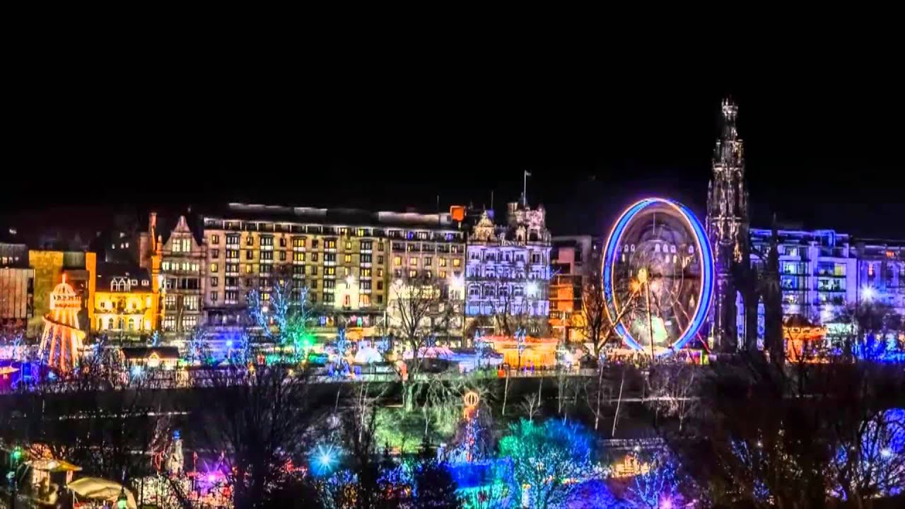 Edinburgh Christmas Market 2012 - Short timelapse - YouTube
