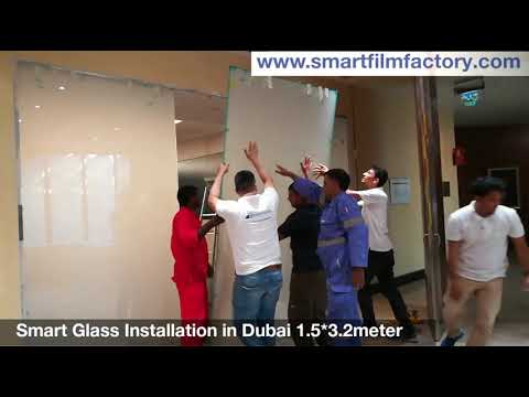 Smart Glass Installation Team in Dubai
