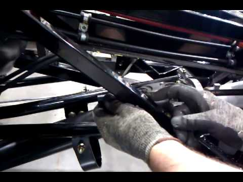 Local Motors Rally Fighter >> Installing the transmission vent tube on the Rally Fighter ...