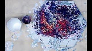 (310) The Boiler Maker Pour - Acrylic Pouring