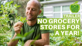 Growing And Foraging 100% Of My Food   No Grocery Stores