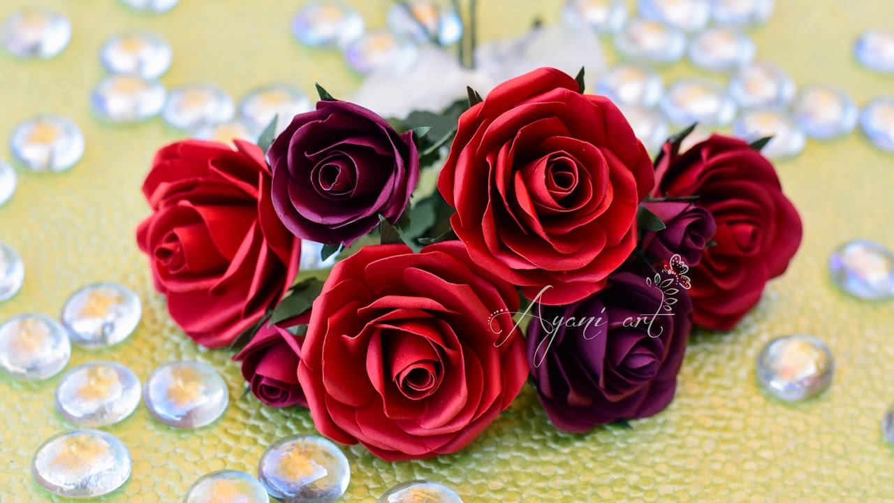 Super Realistic Paper Roses Tutorial Diy Idea For Valentine S Day