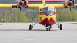 Buffalo Ice Pilots In Kelowna For Water Bombing Training