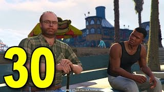 Grand Theft Auto V First Person - Part 30 - Lester's Assassination Mission (GTA Walkthrough)