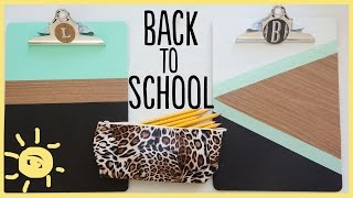 DIY | 3 Awesome Back To School DIY's
