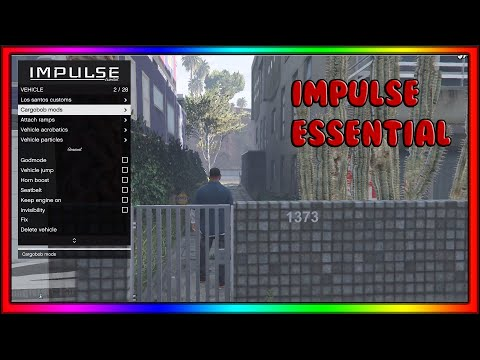 Impulse Mod Menu Essentials 1.0.6 GTA Online ($10 Paid Menu)