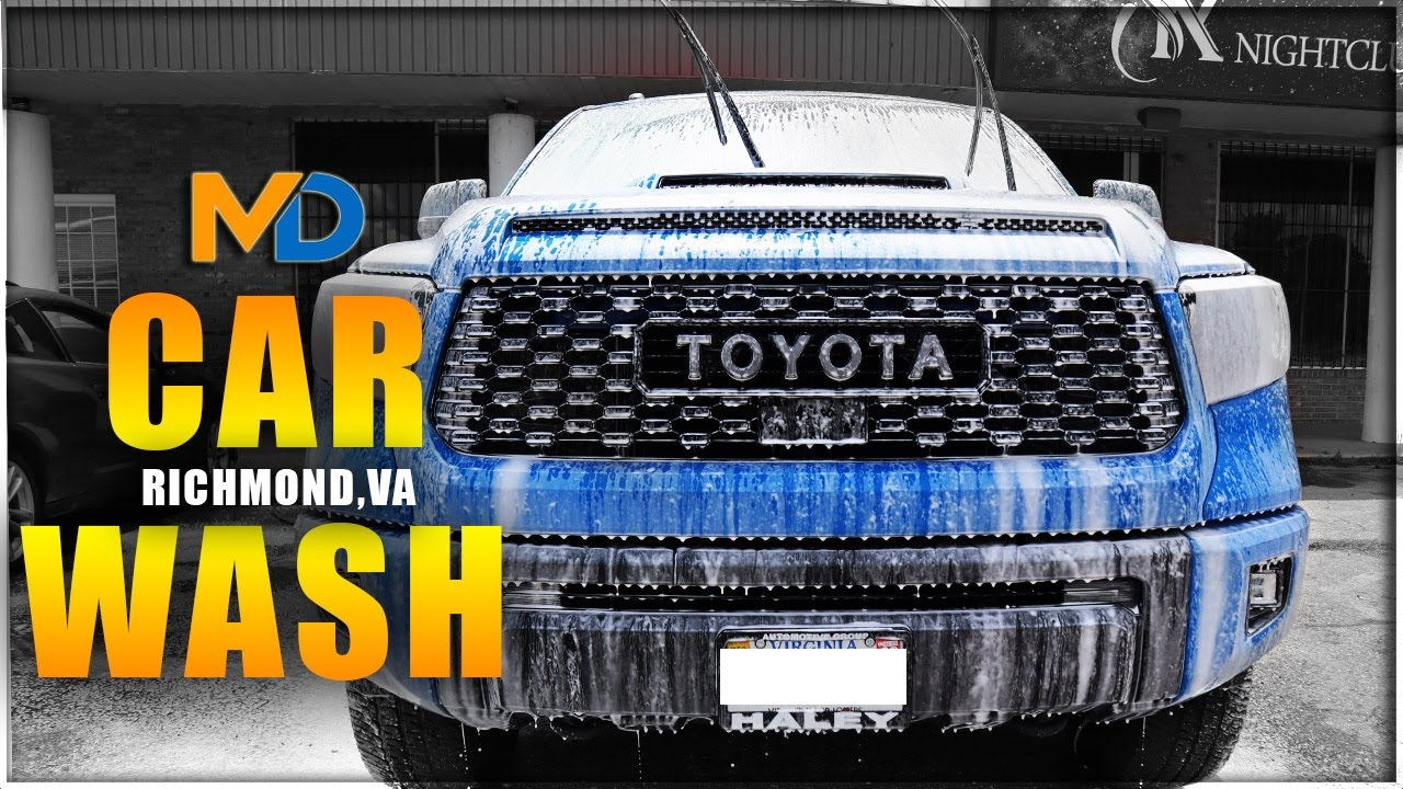 Richmond's #1 Spot for the Best Car Wash