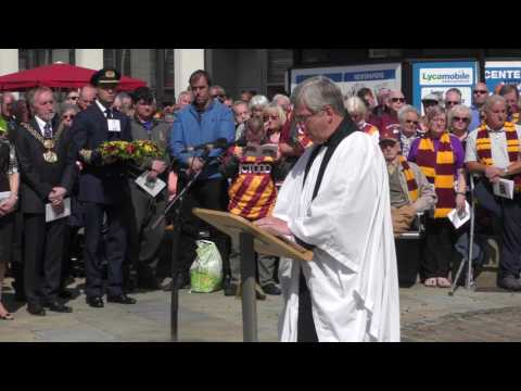 Valley Parade Fire Disaster - Memorial Service