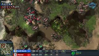 GunGFuBanDa vs uThermal PvT – Group A – WCS Challenger Europe Season 3
