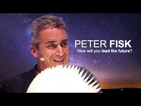 "Peter Fisk on ""How will you lead the future?"""