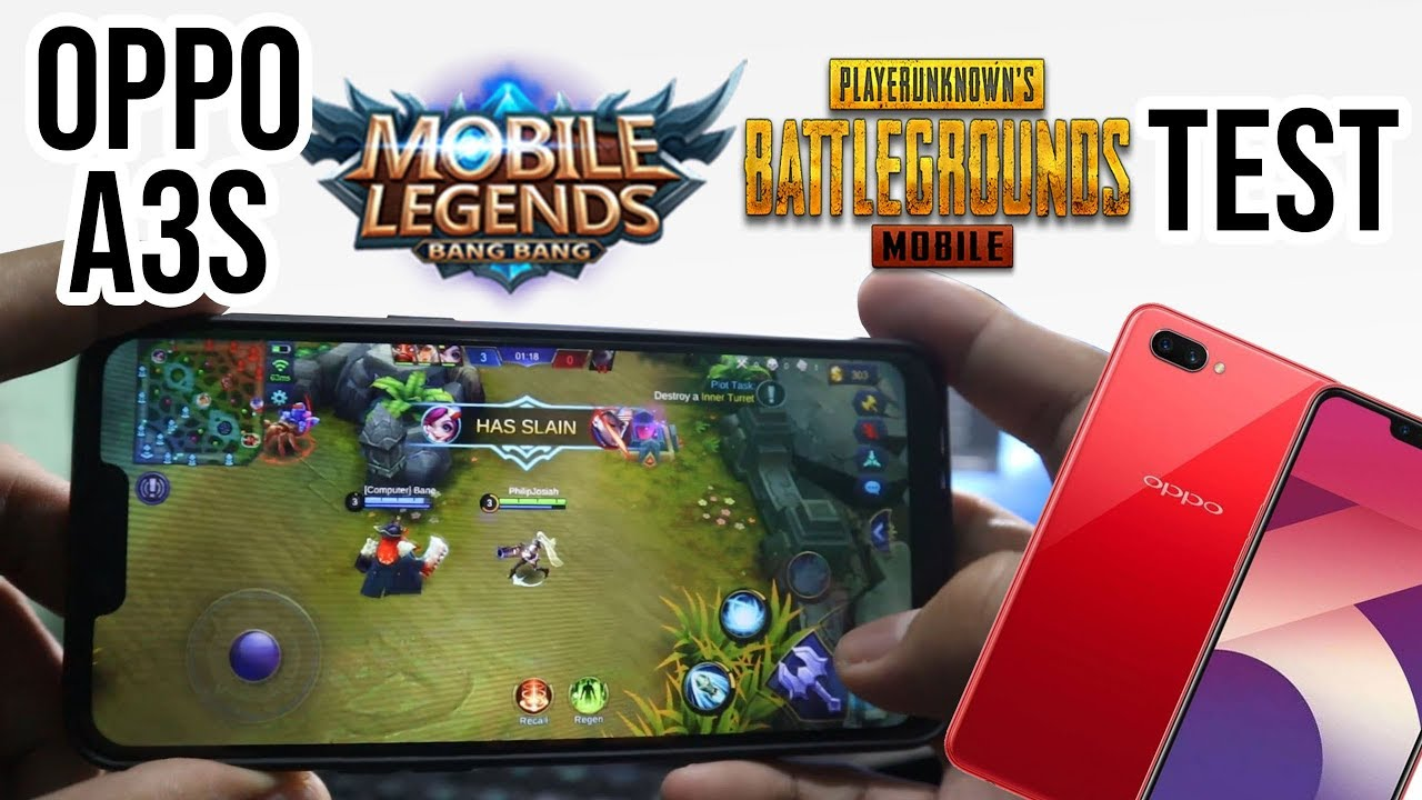Oppo A3S PUBG and Mobile Legends Test – Is It Good For Gaming