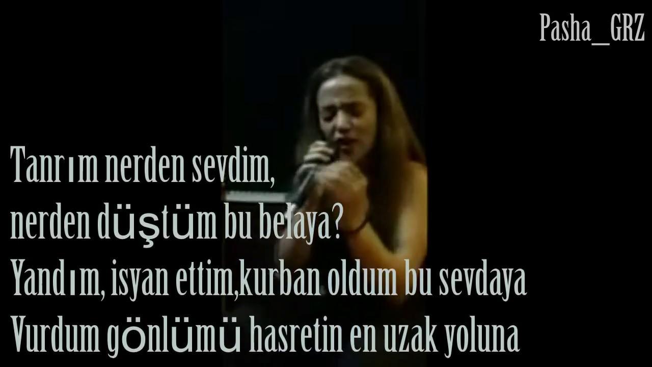 Inci Mercan Tanrim Nerden Sevdim By Pasha Grz Youtube
