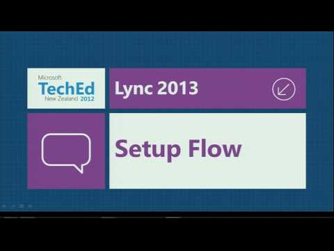 TechEd New Zealand 2012 Microsoft Lync 2013 Deployment