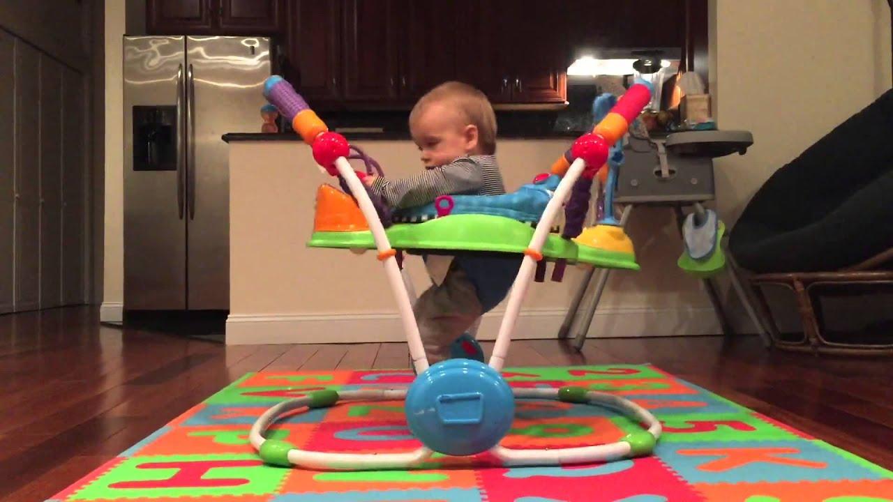jeux bebe qui saute