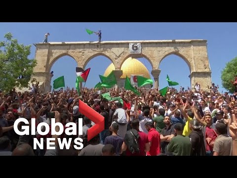 Tens Of Thousands Of Palestinians Protest Evictions In Jerusalem