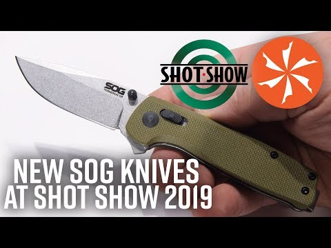 SOG Knives - All Models the Most Reviews