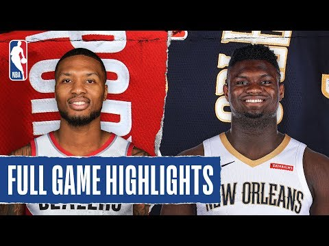 TRAIL BLAZERS at PELICANS | FULL GAME HIGHLIGHTS | February 11, 2020