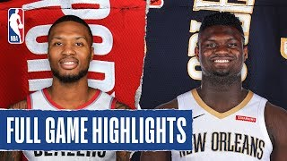 TRAIL_BLAZERS_at_PELICANS_|_FULL_GAME_HIGHLIGHTS_|_February_11,_2020