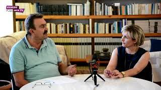 Η Κατερίνα Ζιούτα Γιαννακούλα στο στούντιο των ΕΙΔΗΣΕΩΝ-Eidisis.gr webTV