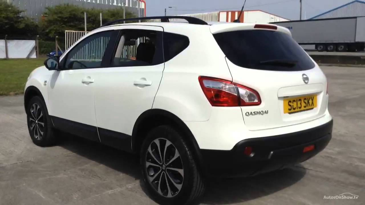 nissan qashqai 360 white 2013 youtube. Black Bedroom Furniture Sets. Home Design Ideas