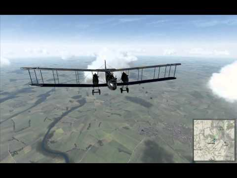 Rise of Flight: Flying the Gotha - An Exercise in Terror (PWCG campaign #1)
