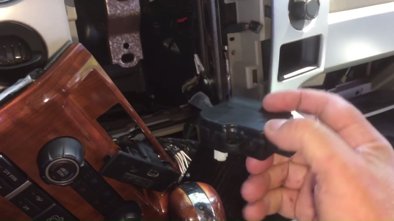 Ford F-150 blend door actuator replacement
