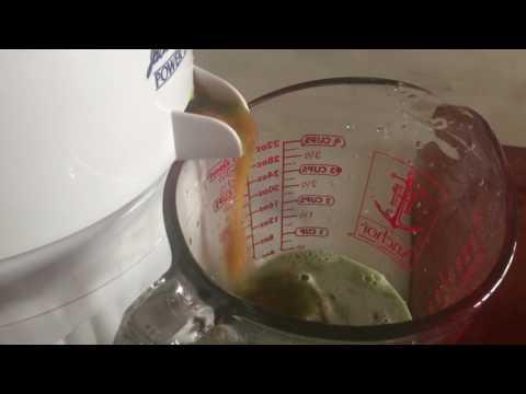 Jack La Lanne's Power Juicer video Papaya and Cucumber Juice