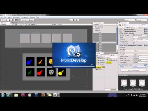 Unity UI Drag and Drop Tutorial
