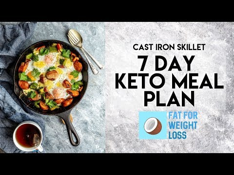 7 Day Cast Iron Skillet Keto Meal Plan