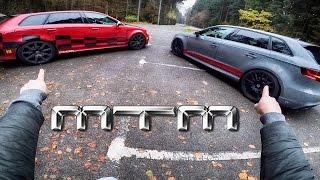 Audi RS3 R 8V MTM 502 HP vs Audi RS3 8P MTM 472 HP POV