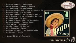50 Mexico  Vol.1 (Full Album/Álbum Completo) Rancheras, Corridos, Huapangos