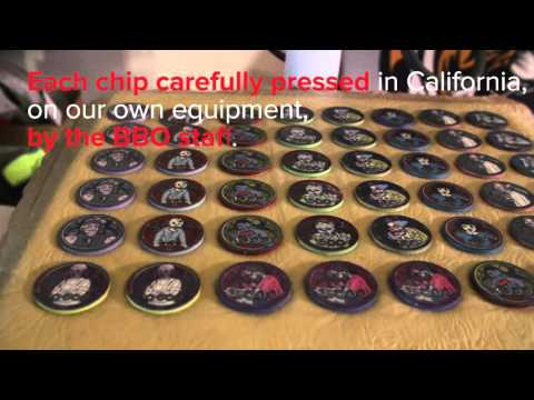 BBO Chip Lab - Exclusive, Limited Run Custom Poker Chips - Made in California