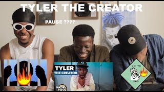 Tyler The Creator - Hot97 Freestyle FUNNY (TYLER WYLIN) REACTION