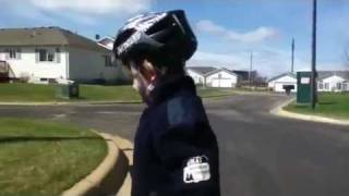 Kid Gives Inspiring Speech To All Children Learning To Ride A Bike