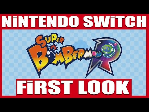 (Switch) Super Bomberman R | 30 Minutes Gameplay + ONLINE Multiplayer