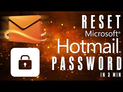 How To Reset Hotmail Password: Recover Hotmail Account In 3 Min | Hotmail.com