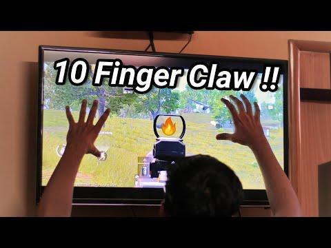 10 FINGER CLAW - PUBG MOBILE - CONQUERER LEAGUE