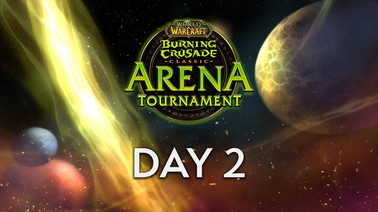 WoW Classic Arena Tournament | Day 2 Full VOD