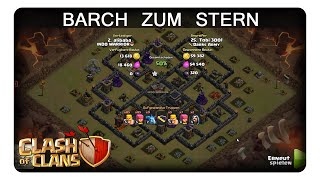 BARCH ZUM STERN    CLASH OF CLANS   Let's Play CoC   Deutsch   German