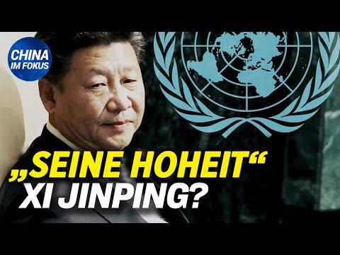UNO zerschlägt Kaiser-Traum von Xi Jinping | Studenten in China protestieren gegen Lockdown