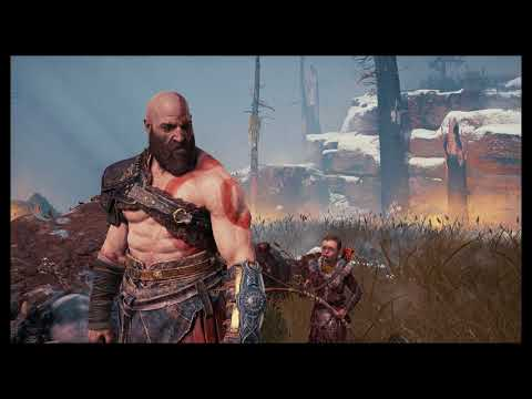 """God of War - The Marked Trees: Kratos """"You are Not Ready"""" (Atreus was Sick) Cutscene (2018)"""