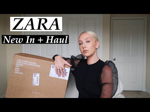 New In Zara Haul + Try-On | August 2019