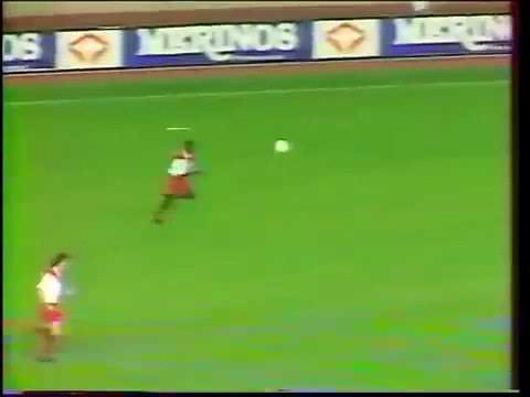 As Monaco - Belenenses Coupe des Coupes 1989 -1990 Version Non Française