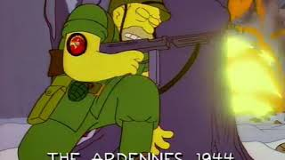 """The Simpsons: Raging Abe Simpson and His Grumbling Grandson in """"The Curse of the Flying Hellfish"""" 4"""