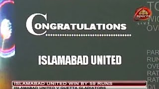 Islamabad United vs Quetta Gladiators (Exhibition match) - 521 runs in 40 overs! Highlights