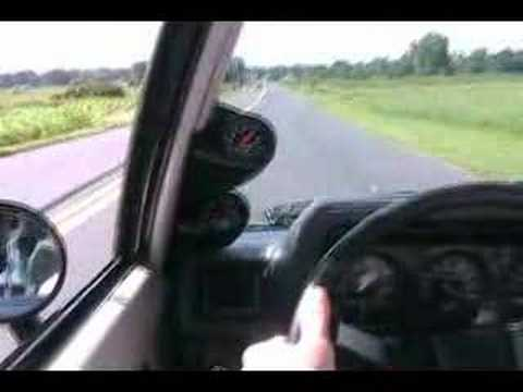 IN-CAR CAMERA: 1986 SHELBY GLHS ROAD TEST #1