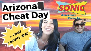 THE BEST CHEAT DAY | WE ATE EVERYTHING WE WANTED IN ARIZONA | Cake | Sonic | Dairy Queen | & MORE!!!