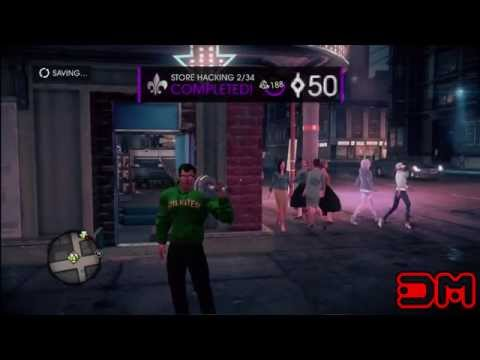 Saints Row 4 - Hacking All Stores & Locations